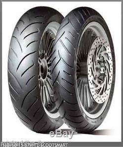 1 Rear Tire Scootsmart Dunlop 160 / 60-15 67h Tl Yamaha T-max 530 2012-2016