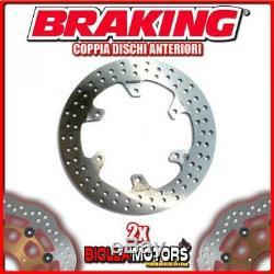 2-rf8115 Brake Discs Front Pair DX + Sx Braking Yamaha Xp 200 Tmax 500cc