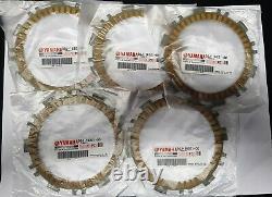 5 Clutch Discs Garnis Original Yamaha Tmax 500 2008 T-max 2001 2002 2003