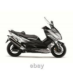 780135 Velocity Kit Kutvek White/black Yamaha T-max 500