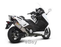 Akrapovic Line Racing Titanium Approved Yamaha T-max 530