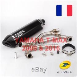 Akrapovic Yamaha Tmax 2008 To 2016 T-max 500-530 Exhaust System