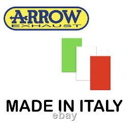 Arrow Complete Line Hom Nocat Race-tech Black C Yamaha Tmax T-max 530 2014 14