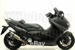 Arrow Exhaust Approves Pot Thunder Carby Titanium Yamaha T-max 530 2012 12
