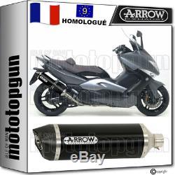 Arrow Exhaust Pot Approves Race-tech C Black Yamaha Yp 500 T-max 2009 09