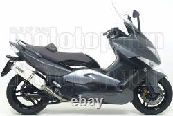 Arrow Pot Escape Approves Race-tech C White Yamaha Yp 500 T-max 2009 09