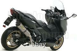 Arrow Pot Escapement Hom Race-tech Titanium CC Yamaha Tmax T-max 560 2020 20