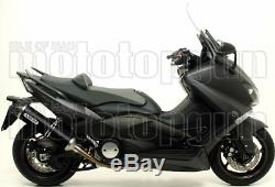 Arrow Pot Exhaust Approved Race-tech Carby Black Yamaha T-max 530 2016 16