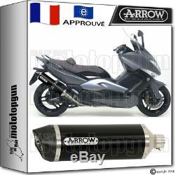 Arrow Racetech Aluminum Silencer Dark CC Yamaha Yp T-max 500 2008 08