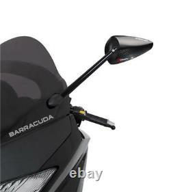 Barracuda Mirrors Yamaha Tmax T Max 500 Om Mirrors