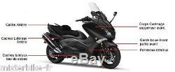 Body Kit Hull Fairing 10 Yamaha T-max 530 In 2012 Tmax Black Gloss