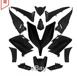 Bodywork Fairing Kit 14 Hulls Yamaha T-max 530 2015 2016 Phase 2 Matt Black