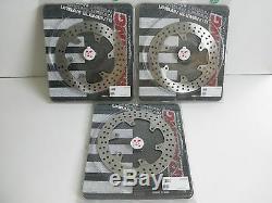 Braking Set Brake Discs Front And Rear For Yamaha T-max 500 2010 2011