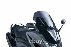 Bulle Puig V-tech Line Sport Yamaha T-max 530 2013 Fume Fonce