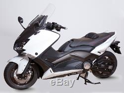 Comfort Saddle Shad Black Red Yamaha T-max 530 Tmax 500 2008 To 2016
