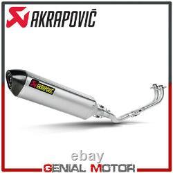 Complete Akrapovic Racing Line Carbon Yamaha T-max 500 2001 2007