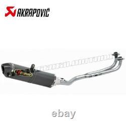Complete Akrapovic Racing Line Carbon Yamaha T-max 530 2001 2007