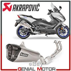 Complete Exhaust Akrapovic Racing Line Titanium Yamaha T-max 530 2017 2019