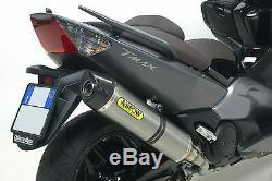 Complete Line Arrow Race-tech Titanium Yamaha T-max 500 2008/11 71390mi + 73507pk