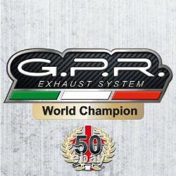 Complete Line Gpr Sonic Titanium Yamaha T-max 500 2008/2009/2010/2011