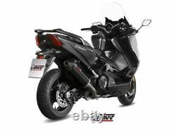Complete Line Yamaha T-max 530 2017 2018 Oval MIVV Noir - Kat