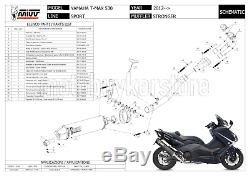 Complete Pot Counterpart Stronger Y. 037. Lbsc Yamaha MIVV T-max Tmax 530 2015 15
