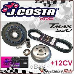 Dimmer Kit J. Costa Racing Xrp + Belt Yamaha Tmax Tmax 530 2014 2015