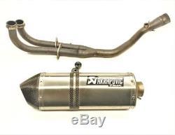 Exhaust Line Akrapovic Yamaha Xp 530 12-16 T-max