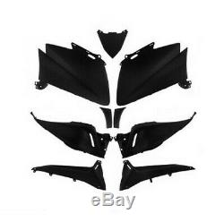 Fairing Kit Yamaha T-max 530 Tmax Matte Black Body Shells 9 Parts New