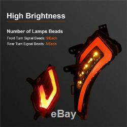 Front Rear Indicators Led Tail Light For Yamaha T-max 530 2012-2016 Tmax