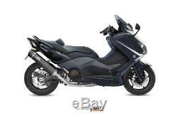 Full Exhaust For Yamaha T-max 530 2012 2016 MIVV Stronger Black