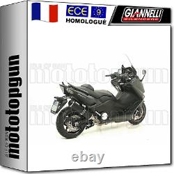 Giannelli Line Complete Approves Ipersport Black Yamaha T-max Tmax 530 2013 13