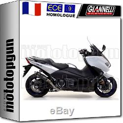 Giannelli Line Complete Approves X-pro Black Yamaha Tmax Tmax 530 2018 18
