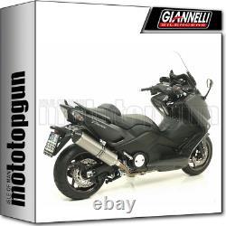Giannelli Line Complete Race Ipersport Titanium-c Yamaha T-max Tmax 530 2012 12