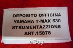 Instrumentation Instrument Yamaha Tmax 530 Sx 2017 2018 2019