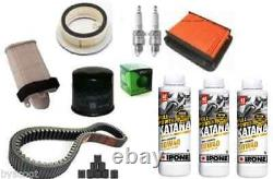 Kit Complete Revision Yamaha 500 T-max 08/11 Air Filter Oil Candle Belt