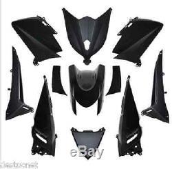 Kit Yamaha Fairing T-max 530 Tmax Shells Brilliant Black Body 11 Cases