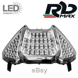 Led Tail Lights And Turn Signals Chrome Crystal Yamaha T-max Tmax 500 2008-2011