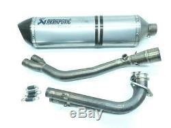 Line Exhaust Akrapovic Xp Yamaha T-max 530 2012-2016