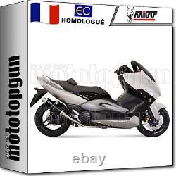 MIVV Line Complete Hom Gp Black Yamaha T-max Tmax 2008 08 2009 09 2010 10