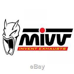 MIVV Y. 028. L3c Full Line Oval Carbon Yamaha T-max 500 2010 10