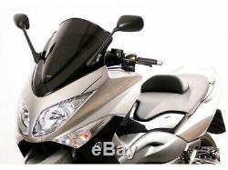 Mra Bulle Rm Racing Maxi Opaque Black Yamaha T-max 500 (10-11)