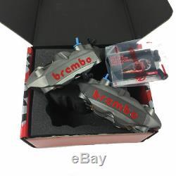 Pair Brake Calipers Radials Monoblock Brembo Gp4-rs 108mm Yamaha T-max 530 15