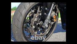 Pair Brake Discs Front 267mm Yamaha Tmax Tmax Iron Max 530 Abs From 2015 To 2016