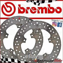 Pair Brake Discs Front Brembo Yamaha Xp T-max 500 2007