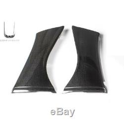 Pair Of Front Side Fairings Shined Carbon Fiber Yamaha Xp 500 T-max'01 / '07