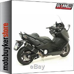 Pot Giannelli Ipersport Complete Black Cap Black Yamaha Tmax Tmax 530 2013 13