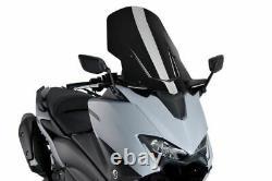 Puig 9424n Windshield V-tech Line Touring For Yamaha T-max 560 2020 Schwarz