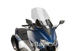 Puig Parabrise V-tech Line Touring Yamaha T-max 530 2018 Smoke Clear