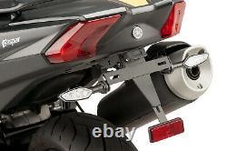 Puig Plate Holder D Registration Yamaha T-max 530/dx/sx 17-19 Black